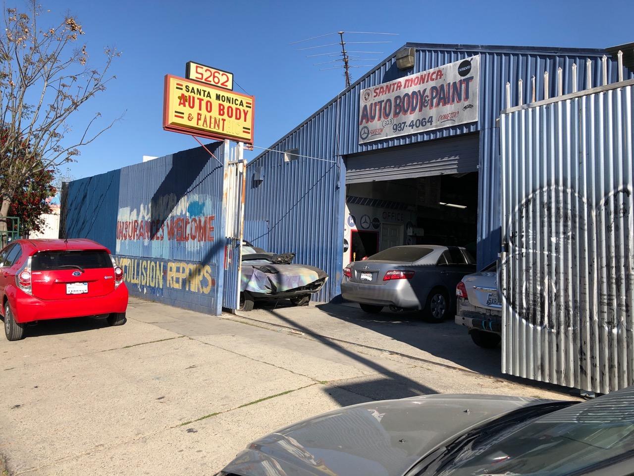 Welcome To Santa Monica Auto Body